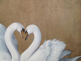 Les amoureux (18″ x 24″)